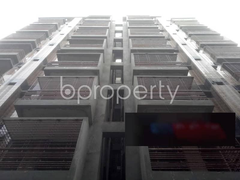 Check This 1250 Sq. Ft Apartment Up For Sale At Badda Very Near To Mosjidul Jannah