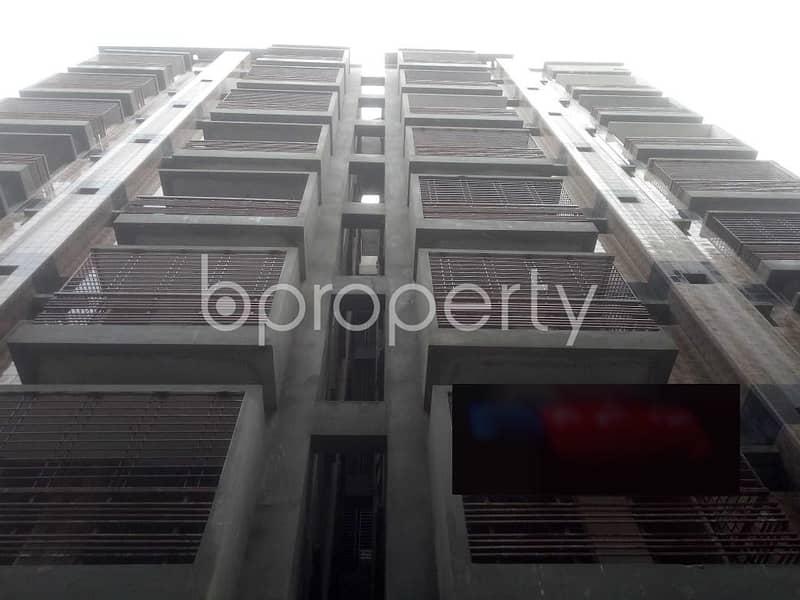 A 1290 Square Feet Residential Apartment For Sale At Badda Next To Baytus Salah Jame Mosque