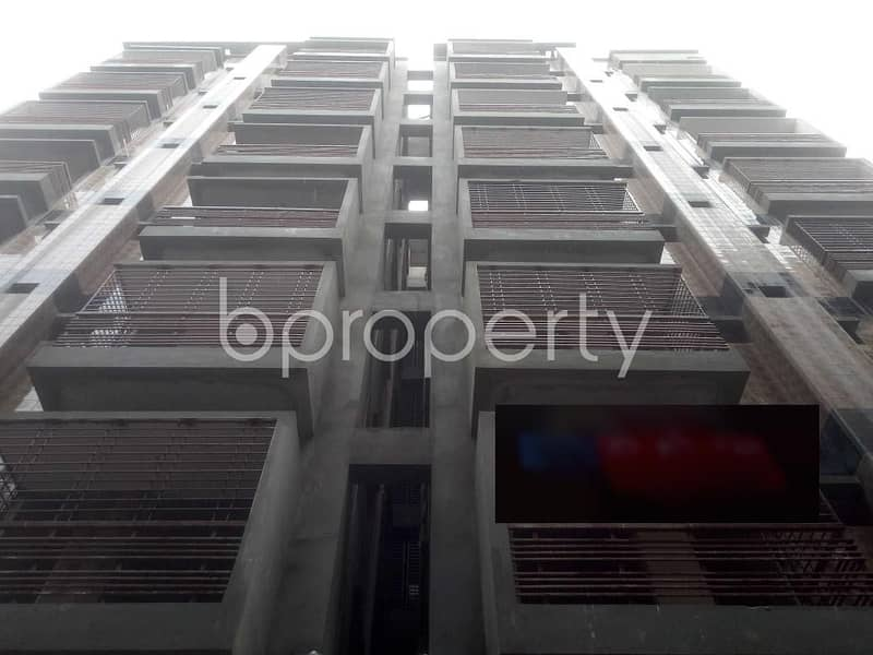 Close To Baytus Salah Jame Mosque At Middle Badda , A 1290 Square Feet Residential Apartment For Sale.