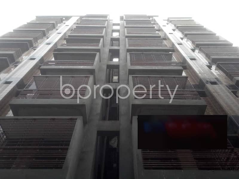 A 1250 Sq Feet Residential Flat Is To Sale In The Location Of Middle Badda.