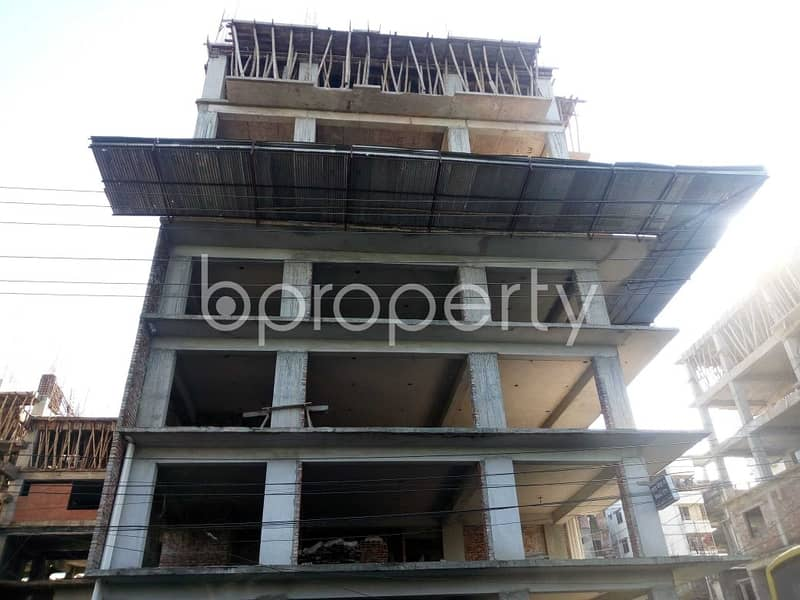 An Office Space Is Up For Sale Located In Banasree Near To Faizur Rahman Ideal Institute .