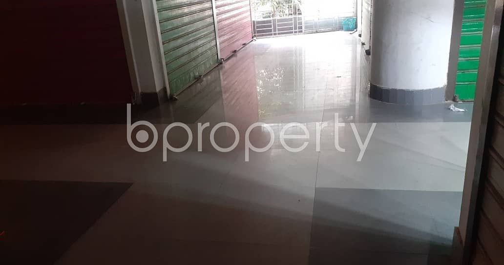 Near To Jamuna Bank Limited, 100 Square Feet Commercial Shop For Rent At Mohammadpur