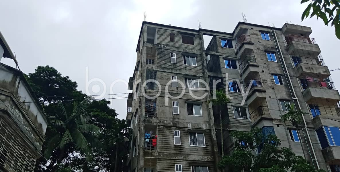 At Halishahar Housing Estate, 1350 Sq Ft Beautiful Flat Is Now Up For Rent