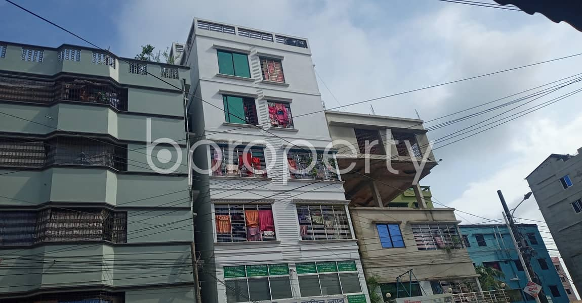 A very beautiful 700 SQ FT residence is now available for rent in Kattali Ward