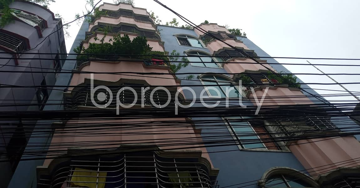 Take rent of a nicely done 1150 SQ FT residential flat located at Bakalia