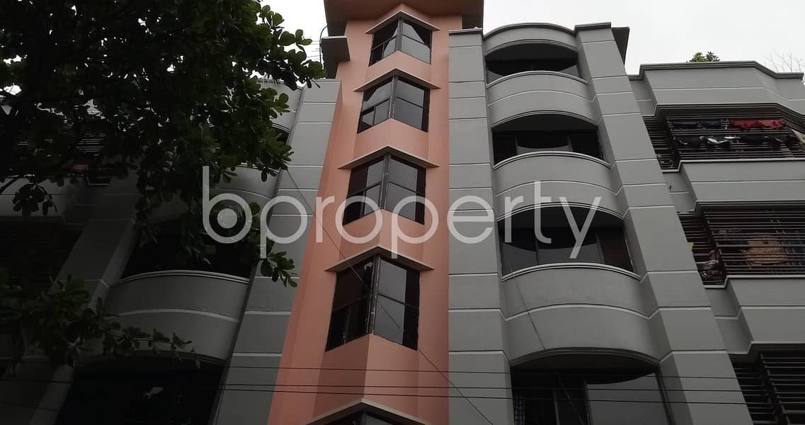 Take rent of a nicely done 1200 SQ FT residential flat located at 4 No Chandgaon Ward