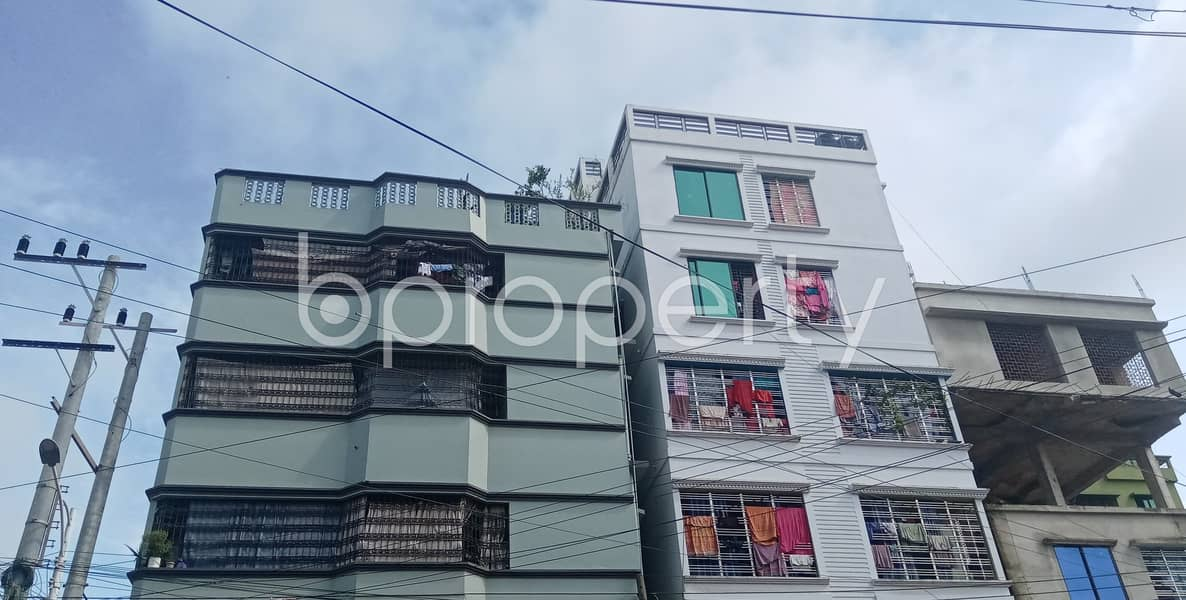 This 650 Sft Apartment Ready For Rent At Halishahar
