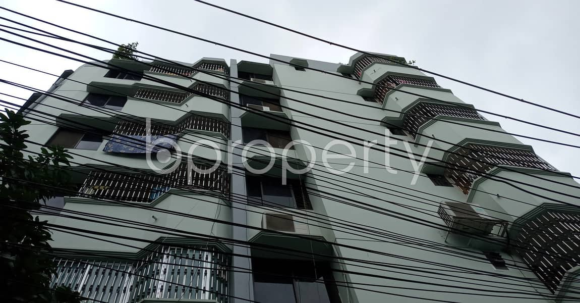 Be the awaited occupant of 1050 SQ FT residential flat waiting to get rented at Sholokbahar