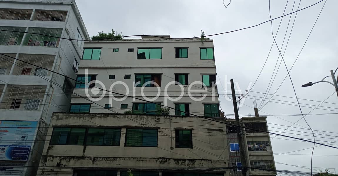 Be the awaited occupant of 1220 SQ FT residential flat waiting to get rented at Muradpur