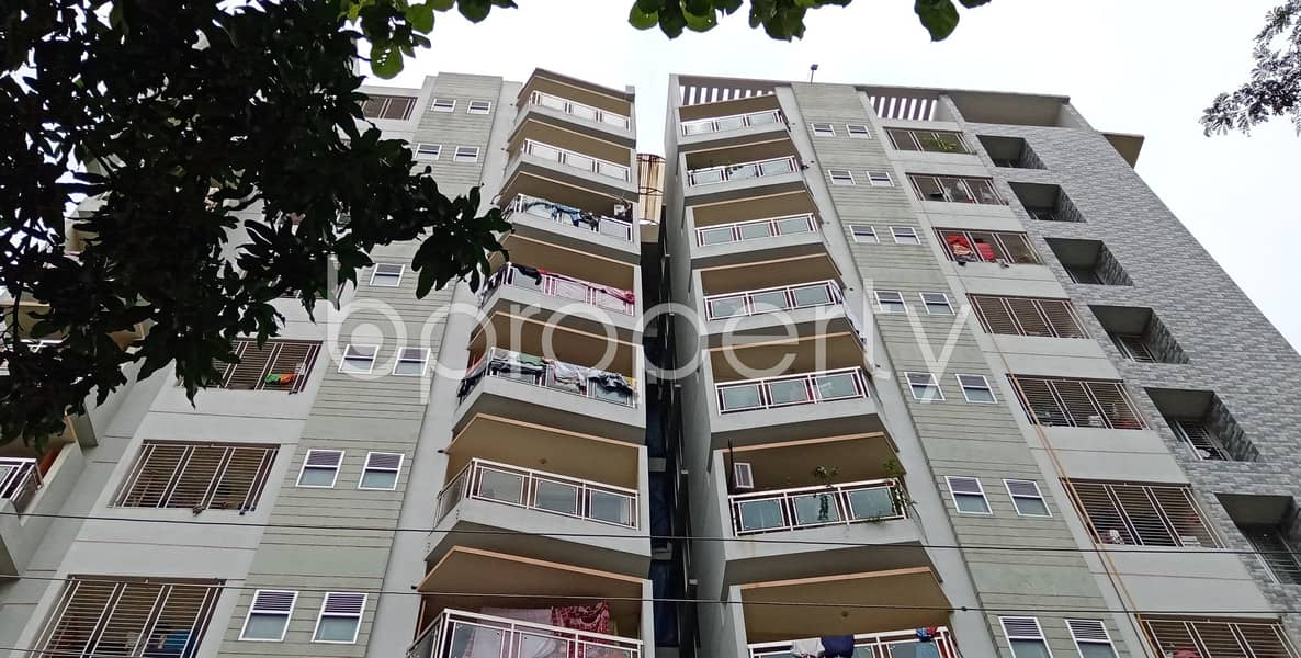 This 1400 Sq Ft Apartment Is Ready For Rent At Halishahar Housing Estate