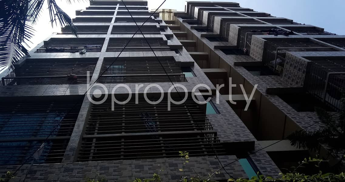 In The Location Of Chandgaon Residential Area, An Adequate 1000 Sq. Ft House Is To Rent .