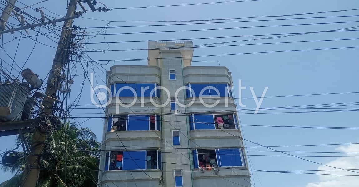 Properly-constructed 470 SQ FT flat is now offering to you in Kathgar for rent