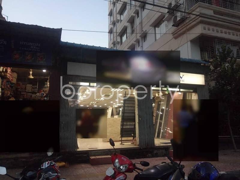A 1060 Sq. Ft Commercial Shop For Rent At Sonargaon Janapath, Uttara .