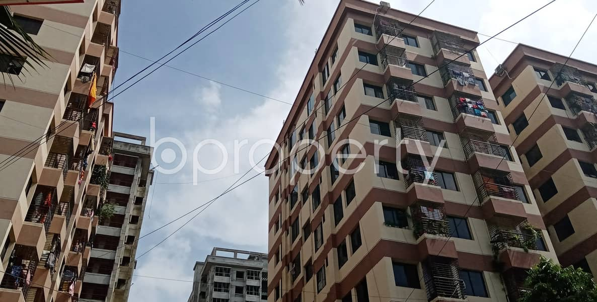 Well Organized Flat Of 1150 Sq Ft Is Now Vacant For Rent In North Halishahar
