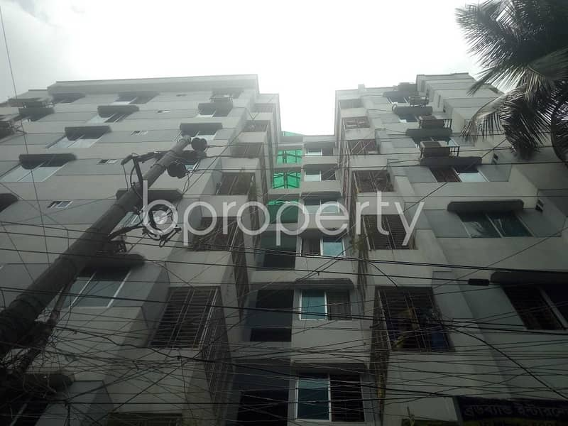 Built With Modern Amenities, Check This 1140 Sq. Ft Flat For Sale Close To Monipur School