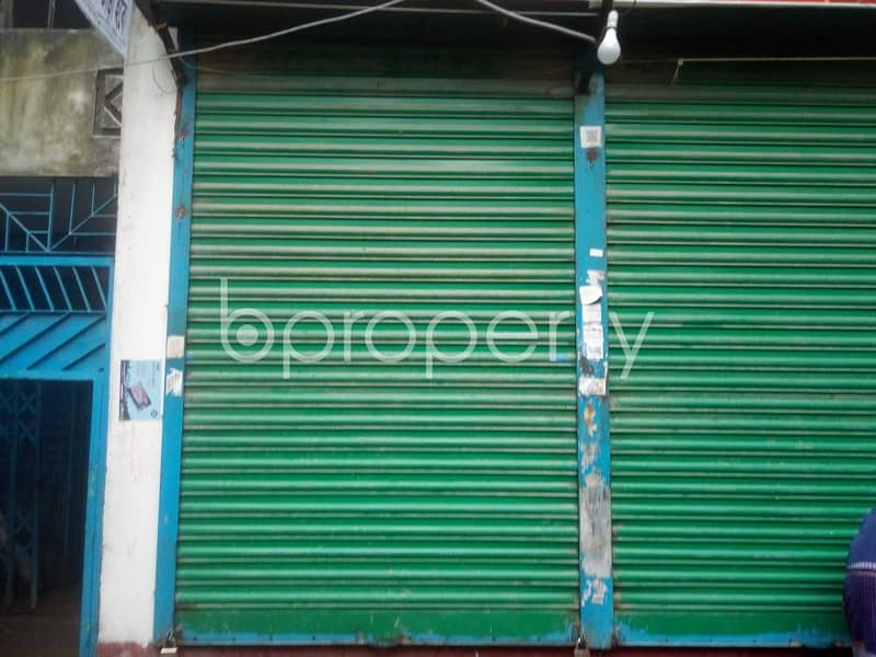 A 120 Sq. Ft Shop At West Nakhalpara Is To Rent.