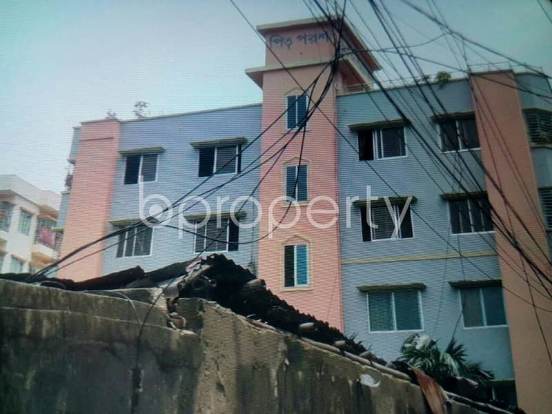 A Reasonable 1110 Sq. Ft And 3 Bedroom Flat Is Available For Rent In 25 No. Rampur Ward.
