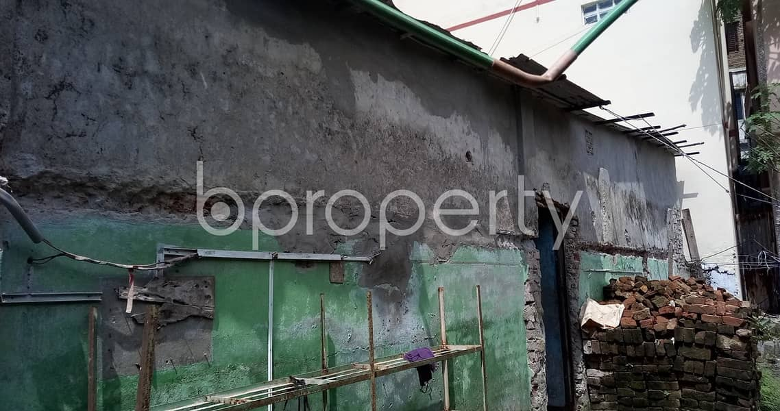 2 Katha Plot with building is now available for sale in Demra