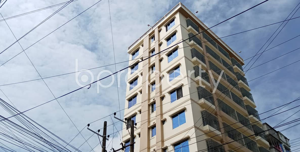 A Nicely Constructed Apartment Of 1200 Sq Ft Is Available Now For Rent In Halishahar Housing Estate