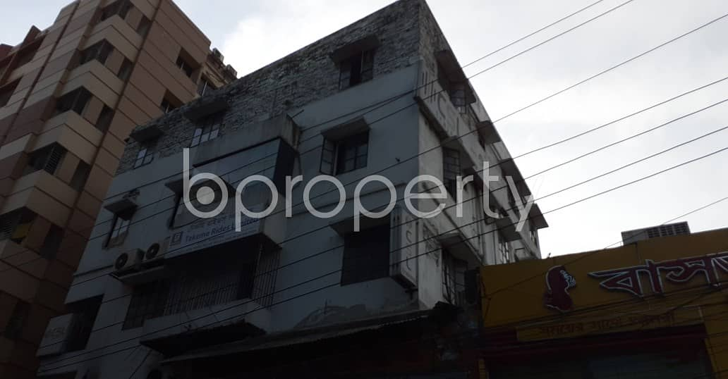 6.8 katha Large Commercial Plot With Building For Sale At Lalmatia Beside To Daffodil International College