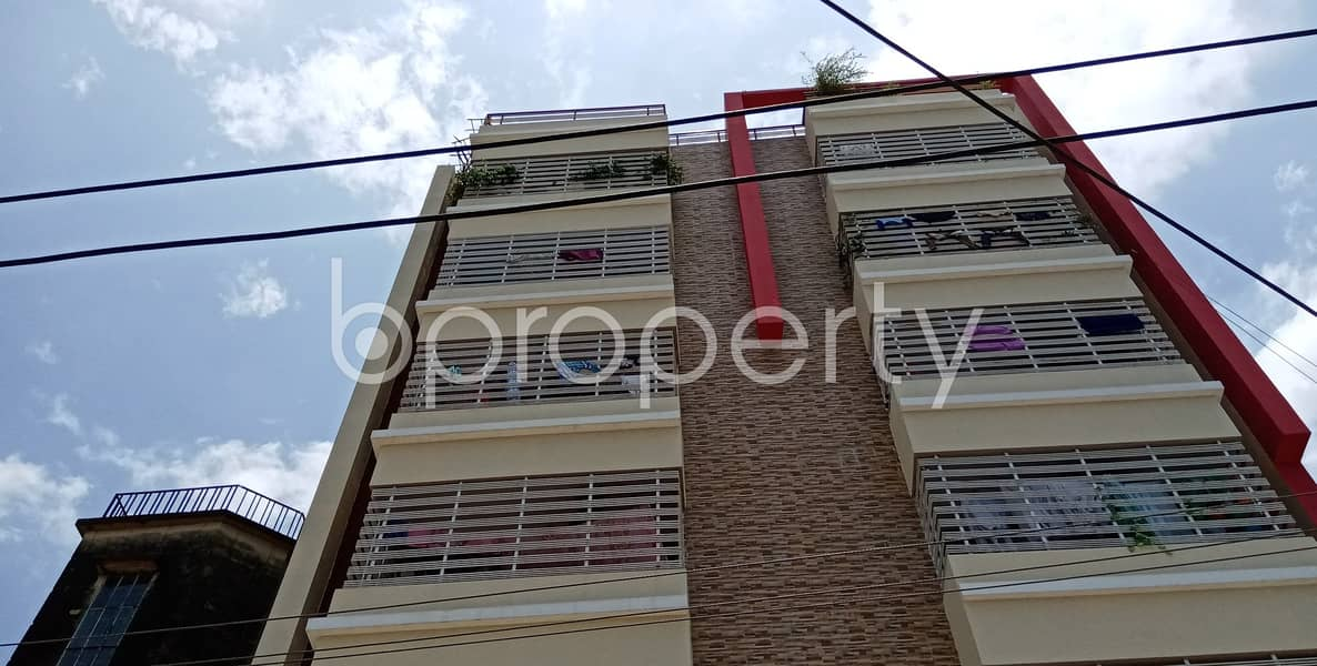 This 1300 Sq Ft Apartment Ready For Rent At Halishahar, Chattogram