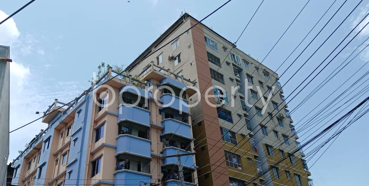 This 1400 Sq Ft Apartment Is Ready For Rent At Halishahar