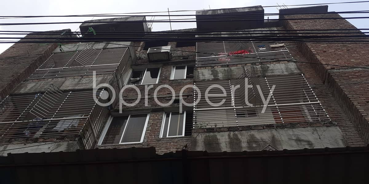 This 700 Sq. Ft Convenient Flat Is For Rent In Jagannathpur Beside To Baitul Aman Mousque