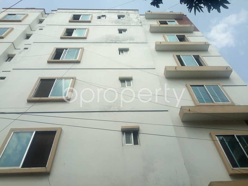 A 900 Sq Ft Flat For Rent In Uttara Sector 13.