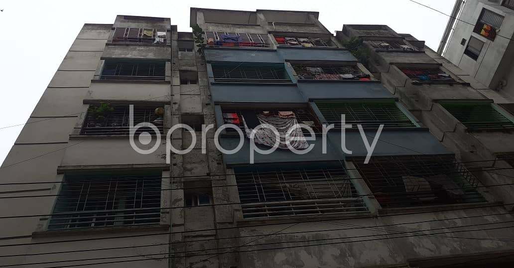 In Mirpur this flat is up for sale which is 930 SQ FT