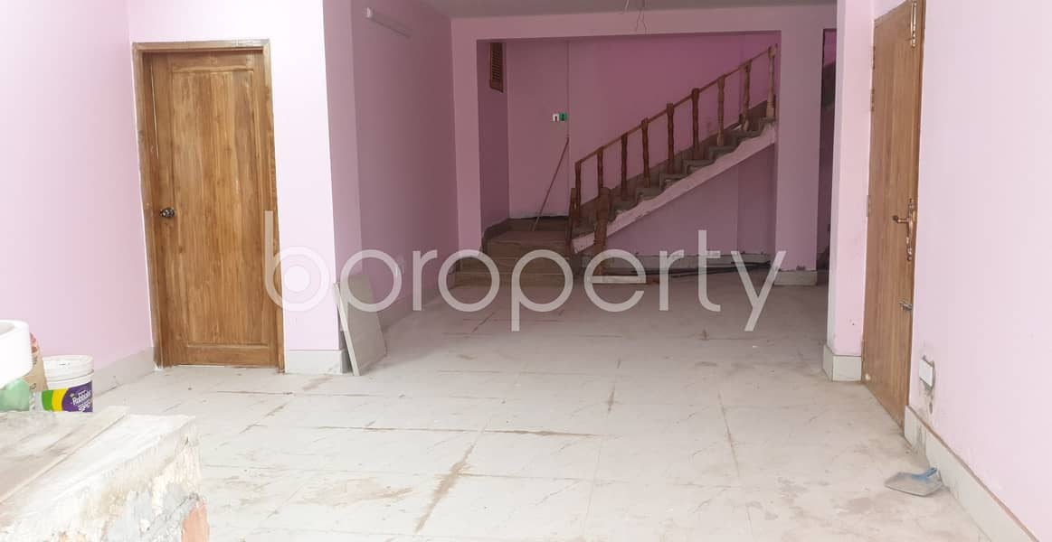 A convenient 2450 SQ FT Commercial Duplex is prepared to be rented at Mirpur 6