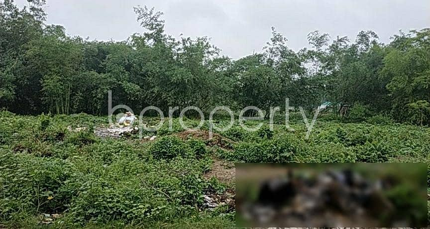 This Commercial Plot Of 86 Katha Is Vacant Right At This Moment For Lease In Savar