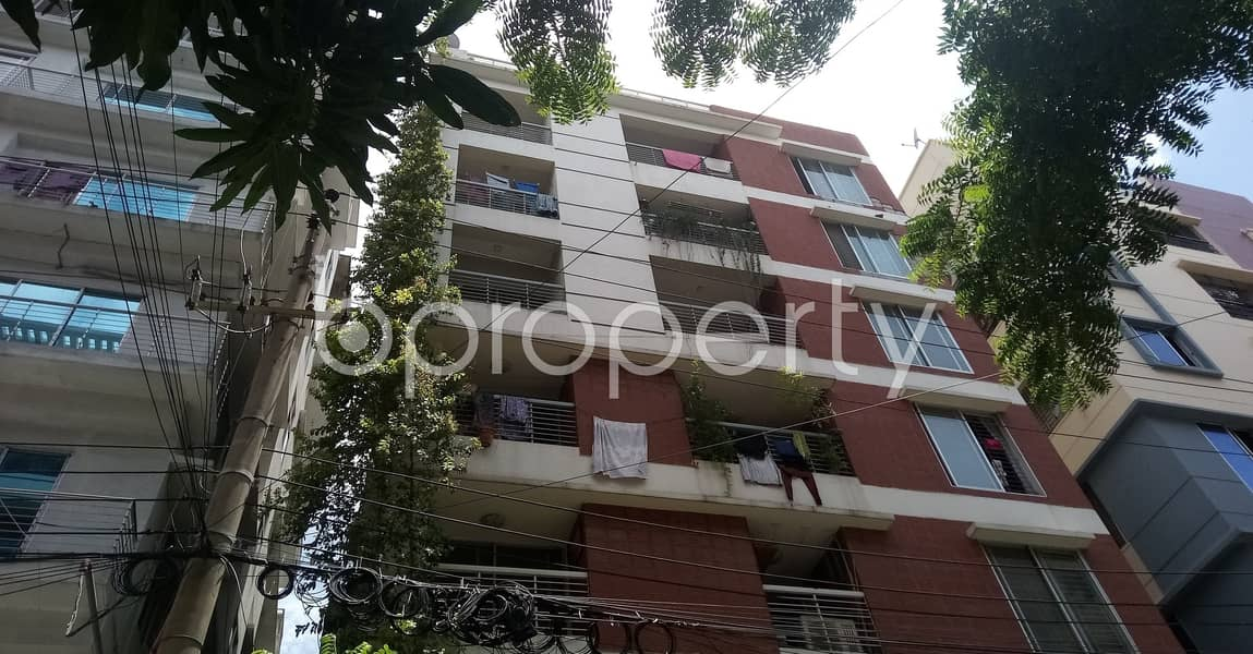 A worthwhile 2200 SQ FT residential flat is ready for rent at Mirpur DOHS