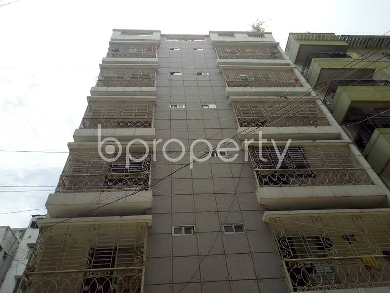 A worthwhile 900 SQ FT residential flat is ready for rent at Uttara