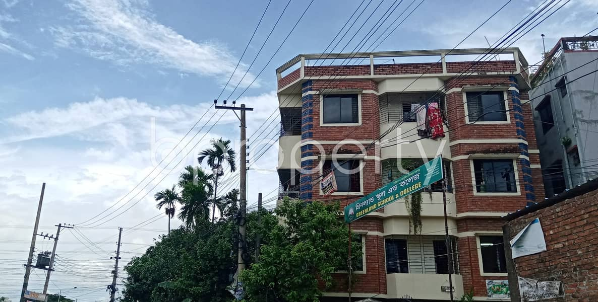 This 600 Sq Ft Commercial Apartment Is Ready For Rent At Halishahar