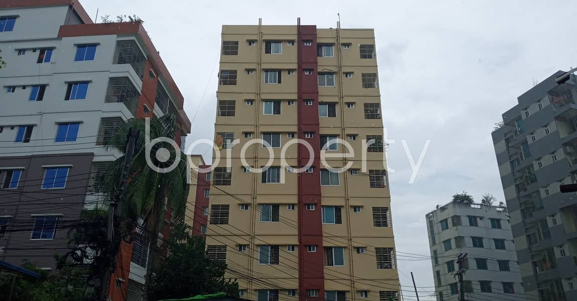 Located at 7 No. West Sholoshohor Ward, 950 SQ FT residential flat is quite accessible for owning
