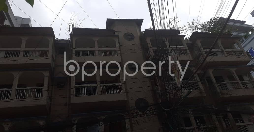 This Ready And Comfortable 1000 Sq. Ft Apartment Is Up For Rent At Shah Garibullah Housing Society.