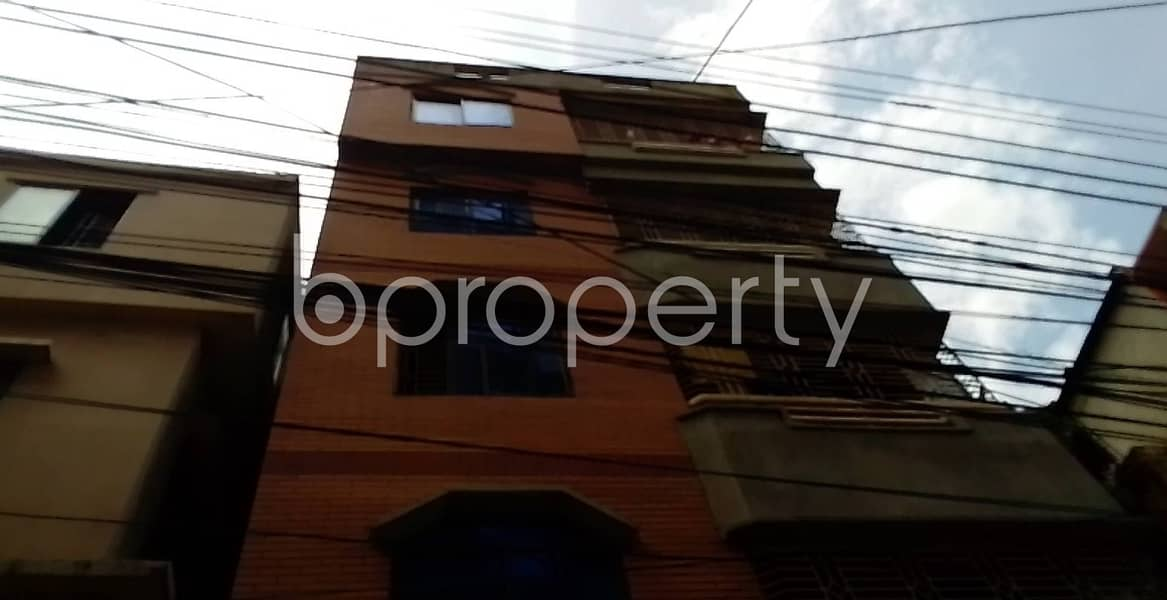 A Comfortable And Convenient 900 Sq. Ft House Is Ready For Rent At Race Course Close To Cumilla Markaj Mosjid.