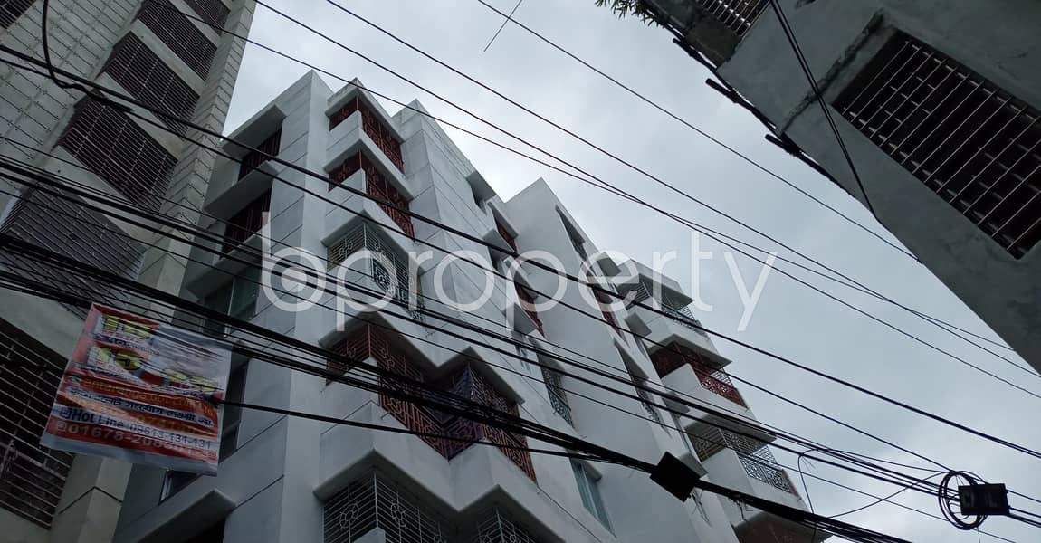 Affordable 910 Sq Ft Flat Is Up For Rent In 7 No. West Sholoshohor Ward