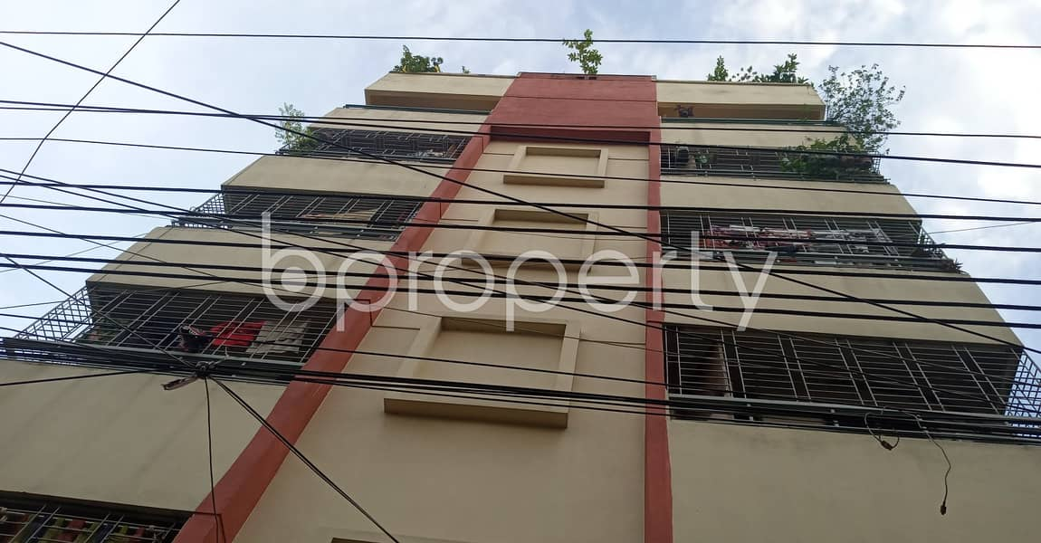 This 900 Sq Ft Flat Is Up For Rent In Uttara -14, With A Lovely View