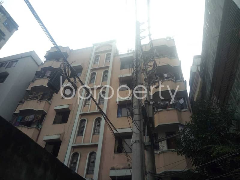 An Apartment Which Is Up For Sale At Maghbazar Near To Baitul Mamun Jame Masjid.
