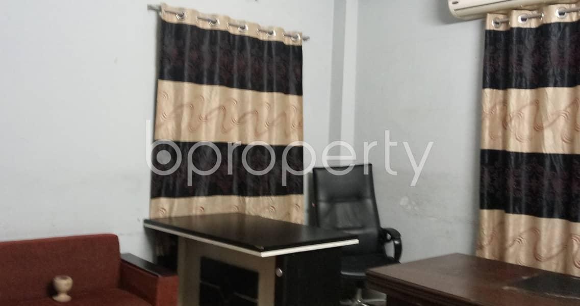 1600 Square Feet Office For Rent At Kalabagan Close To Masjid-E-Bakkatil Mubarakah