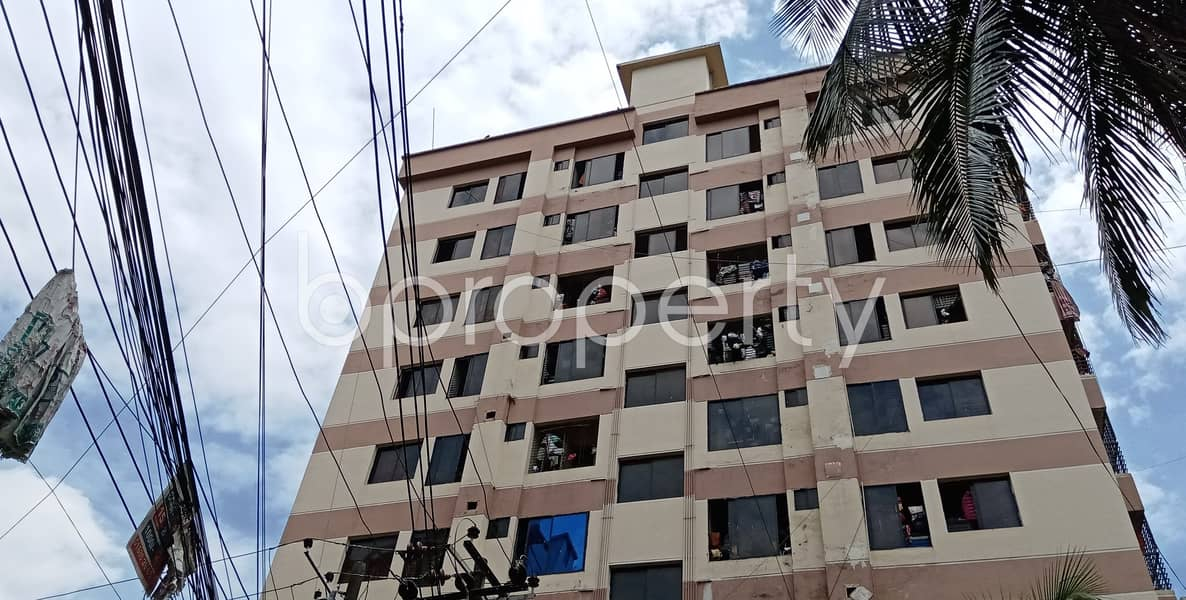 Now you can afford to dwell well, check this 1224 SQ FT flat in Halishahar