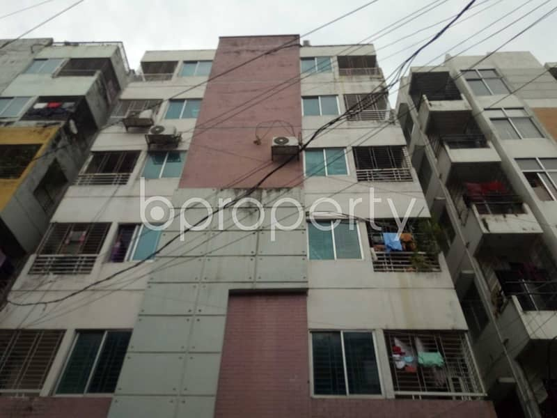 A well-sized 900 SQ FT residential home is available for rent at Uttara