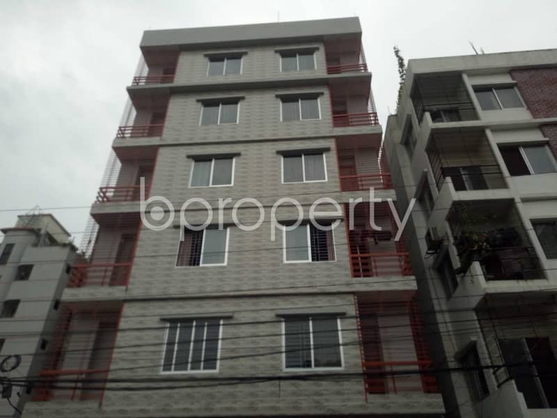 A very reasonable 900 SQ FT residential home is up for rent located at Uttara