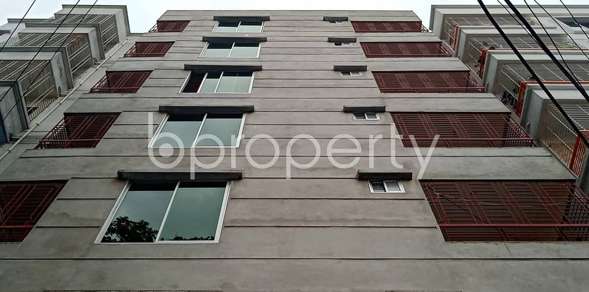 1100 Sq Ft Ready Flat For Sale In Banasree