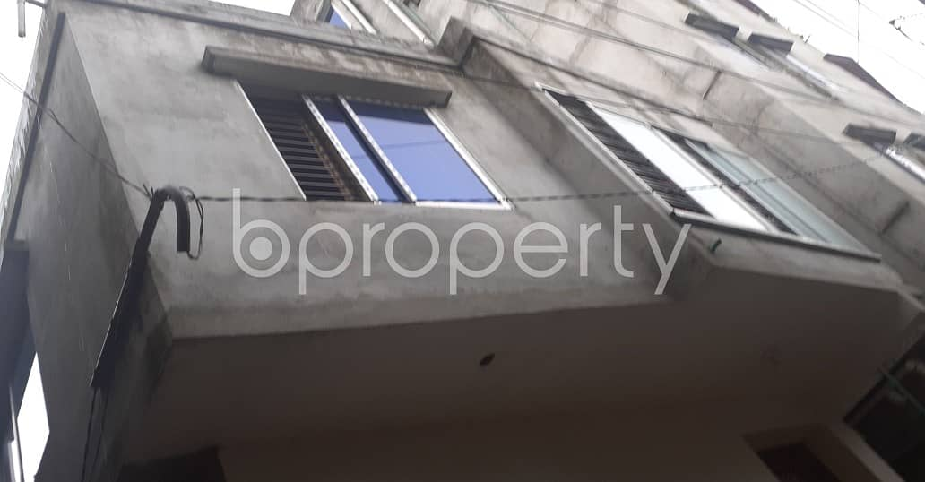 This small-sized 500 residential apartment is prepared to get rented at Faydabad