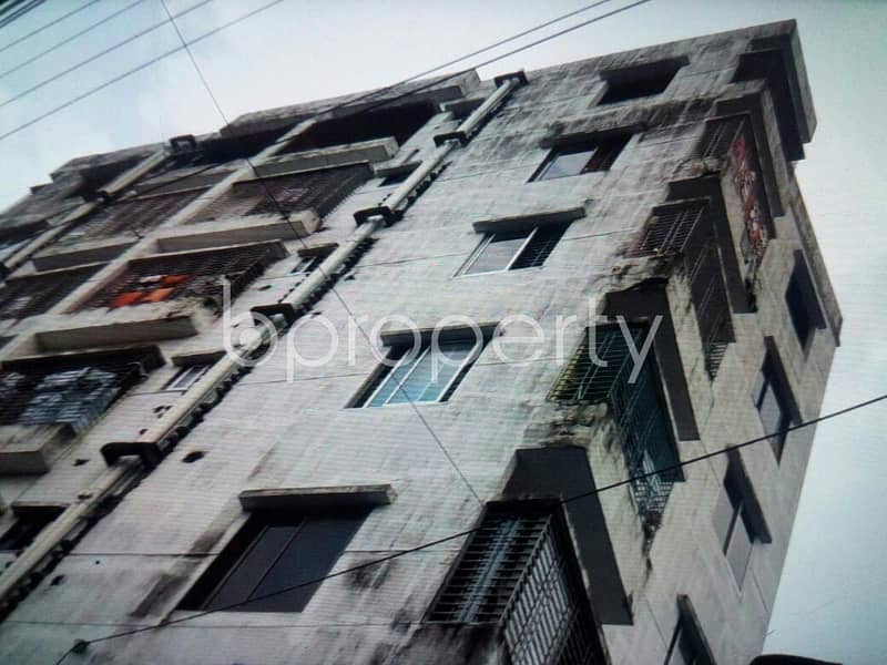 This small sized 1110 residential apartment is prepared to get rented at Middle Rampur