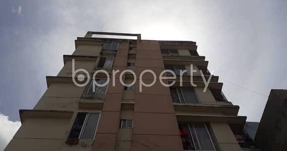 বিক্রয়ের জন্য BAYUT_ONLYএর ফ্ল্যাট - আদাবর, ঢাকা - In The Location Of Sunibir Housing Society, Adabor An Adequate House Is For Sale .