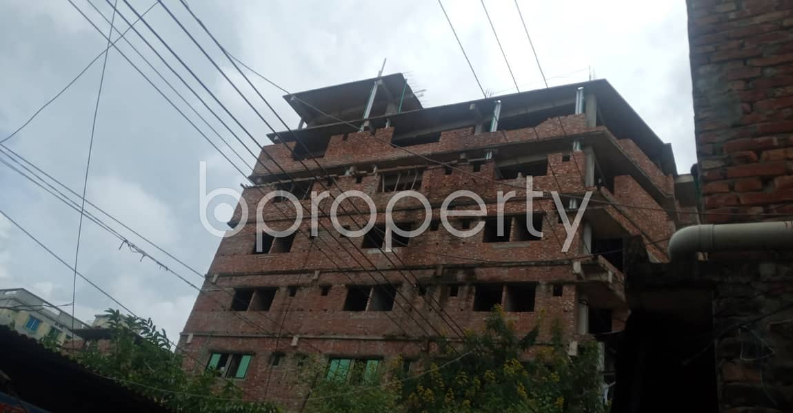 A 1 Bedroom And 460 Sq Ft Properly Developed Flat For Rent In 38 No. South Middle Halishahar.