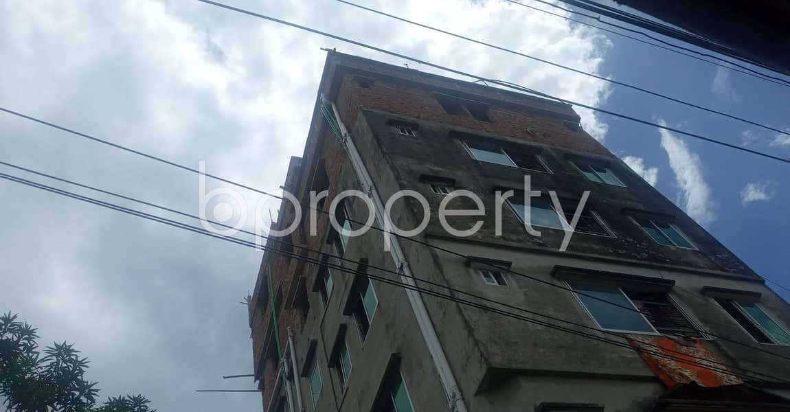 An Adequate And Cozy 465 Sq. Ft Flat At 38 No. South Middle Halishahar Is Ready For Rent